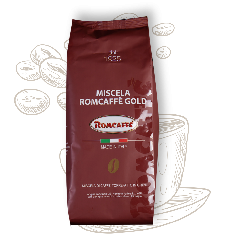 Romcaffè Gold koffie